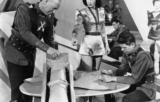 Видео к фильму Полет на Марс 1951 Трейлер