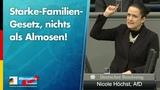 Starke-Familien-Gesetz, nichts als Almosen! - Nicole H