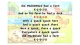 Old MacDonald Had A Farm - Lyrics, Karaoke, Playback, Instrumental, Sing-Along