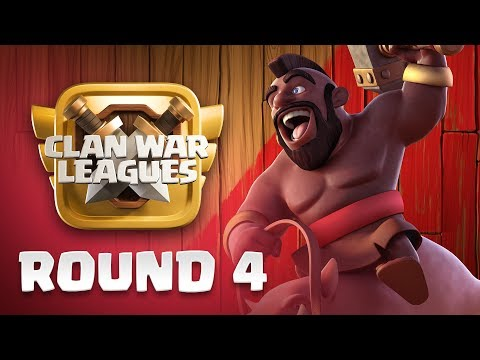 Clan War Leagues - 3 Star Attacks - Clash of Clans - Round 4 |Sc studio