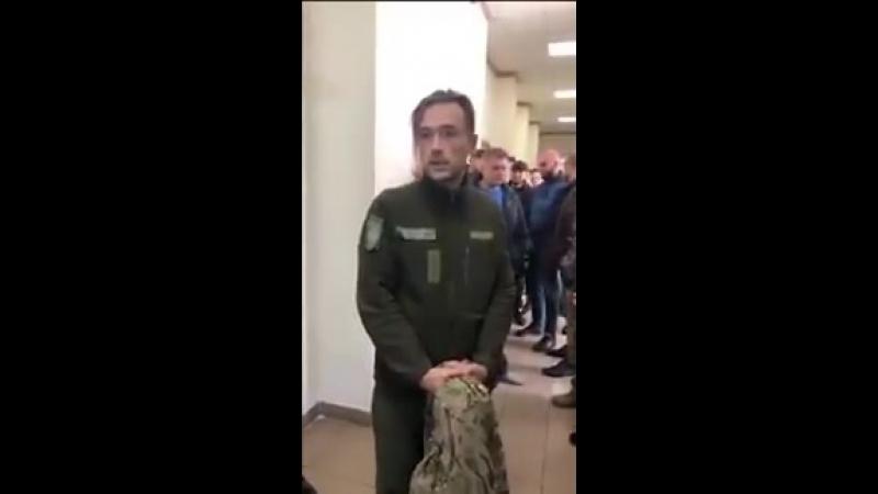 Анатолій Пашинін, в Чернігові, на суді по видачі воїна-добровольця московії