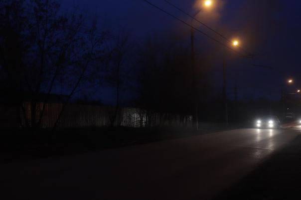 Красивый ночной вид на Нижний Новгород