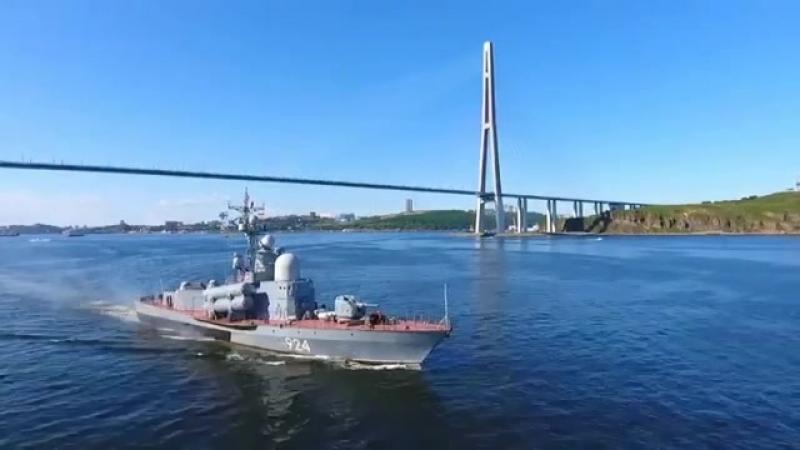 РКА Р-11 ракетный катер проекта 12411. Бортовой номер 940. Шифр Молния.