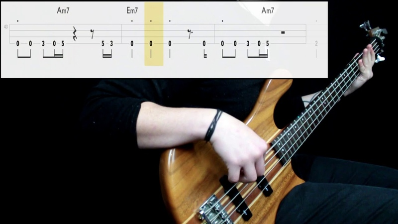 Queen Another One Bites The Dust Bass Cover Play Along Tabs In Video