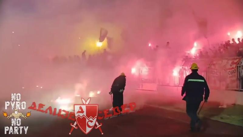 KSZO OSTROWIEC SW CRVENA ZVEZDA PYRO TROUBLE SERBS WITH RUSSIAN 23 09 2018