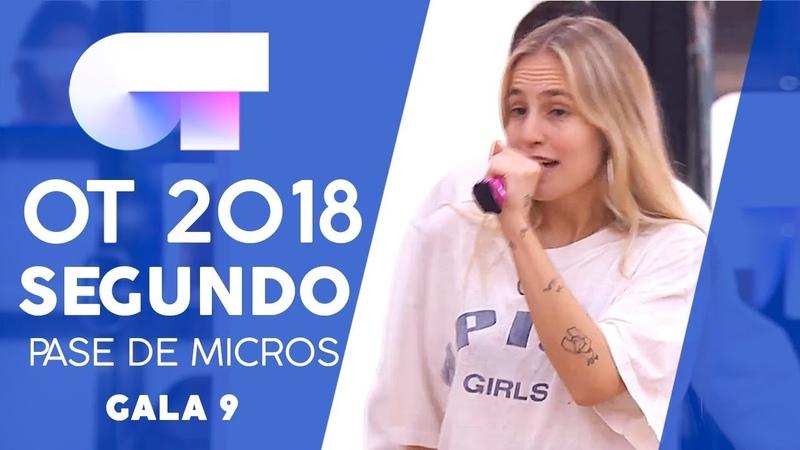 SPICE UP YOUR LIFE - GRUPAL | SEGUNDO PASE DE MICROS GALA 9 | OT 2018