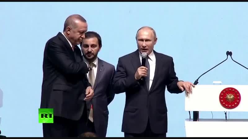 Путин: Это яркий пример умения защищать свои национальные интересы!