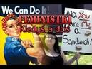 Czy kobieta ma takie same prawa jak człowiek? Żałosna hipokryzja feministek! Wstyd i hańba!
