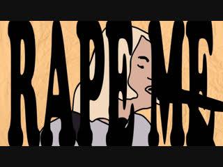 Nirvana - rape me (live - snl). animation.