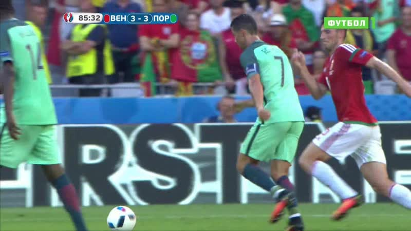 Cristiano Ronaldo Vs Hungary (EURO 2016)Full HD 1080i