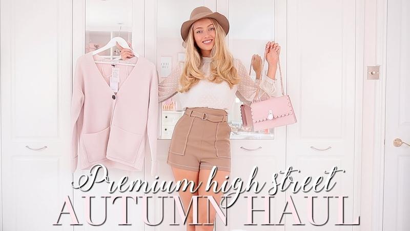 PREMIUM HIGH STREET AUTUMN HAUL~ TED BAKER, REISS, ME EM ~ Autumn Fashion Edit ~ Freddy My Love