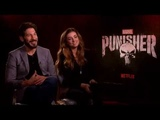 The Punisher Jon Bernthal and Giorgia Whigham Interview