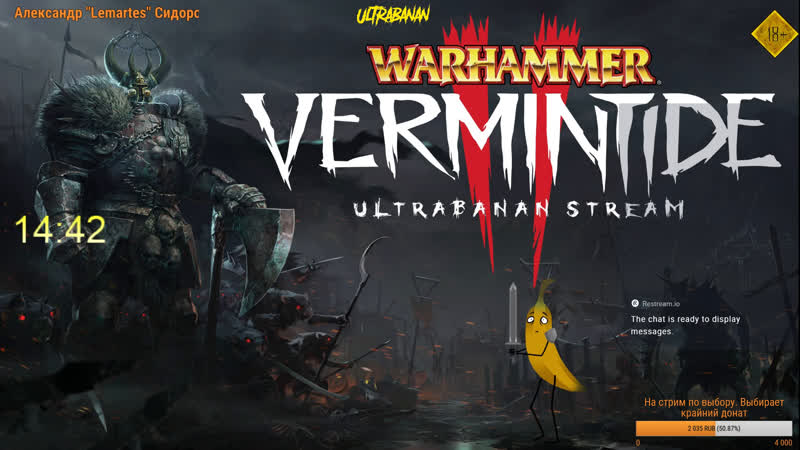 Warhammer Vermintide II Co-op Имперская ОПГ разоряют бедных крысят! 1