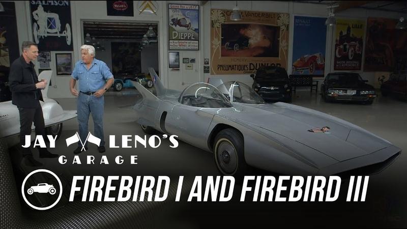 1953 Firebird I and 1958 Firebird III - Jay Lenos Garage