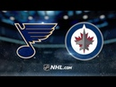 St. Louis Blues vs Winnipeg Jets - Oct.22, 2018   Game Highlights   NHL 2018/19   Обзор Матча