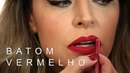 Como aplicar o batom vermelho matte Ruby Woo Por Carla Forseti Maquiagem