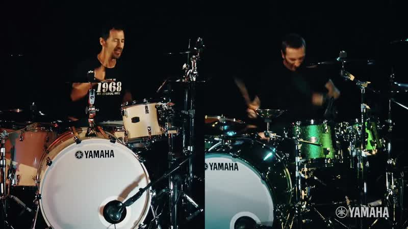 """Shannon Larkin _u0026 Sully Erna of GODSMACK _""""We Play Yamaha_"""""""