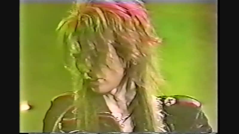 X JAPAN TOUR DAHLIA (31.12.1995). Part 1