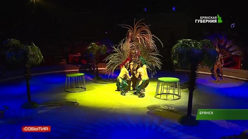 В Брянском цирке прошла премьера новой программы Гии Эрадзе Гиппопотамус