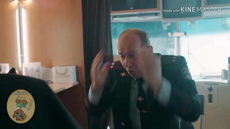 Полицейский с рублёвки на съёмках Гоголя