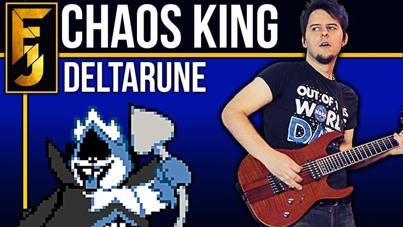 DELTARUNE - Chaos King METAL (feat. RichaadEB)   FamilyJules