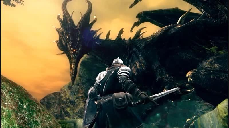 Dark Souls: Prepare to die edition - Чёрный дракон Каламит