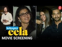Bollywood Celebrities attend the screening of Helicopter Eela starring Kajol