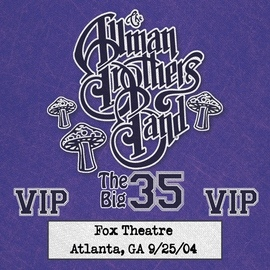 The Allman Brothers Band альбом Fox Box: 3 Nights Live at Fox Theatre in Atlanta, Ga (September 25, 2004)