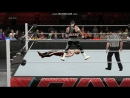 WWE 2K15 RAW Rokstar vs Lance