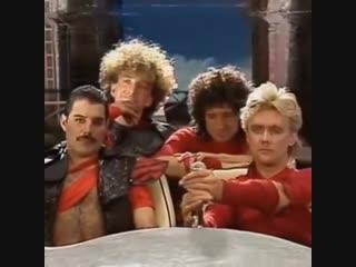 Группа Queen. Блуперы со съемок клипа Radio Gaga (1984)