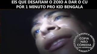 Everson Zoio decide dar o cu pro Kid Bengala por 1 minuto