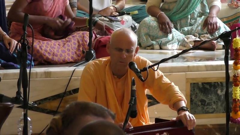 HH Kadamba Kanana Swami - kirtan 07.07.2018