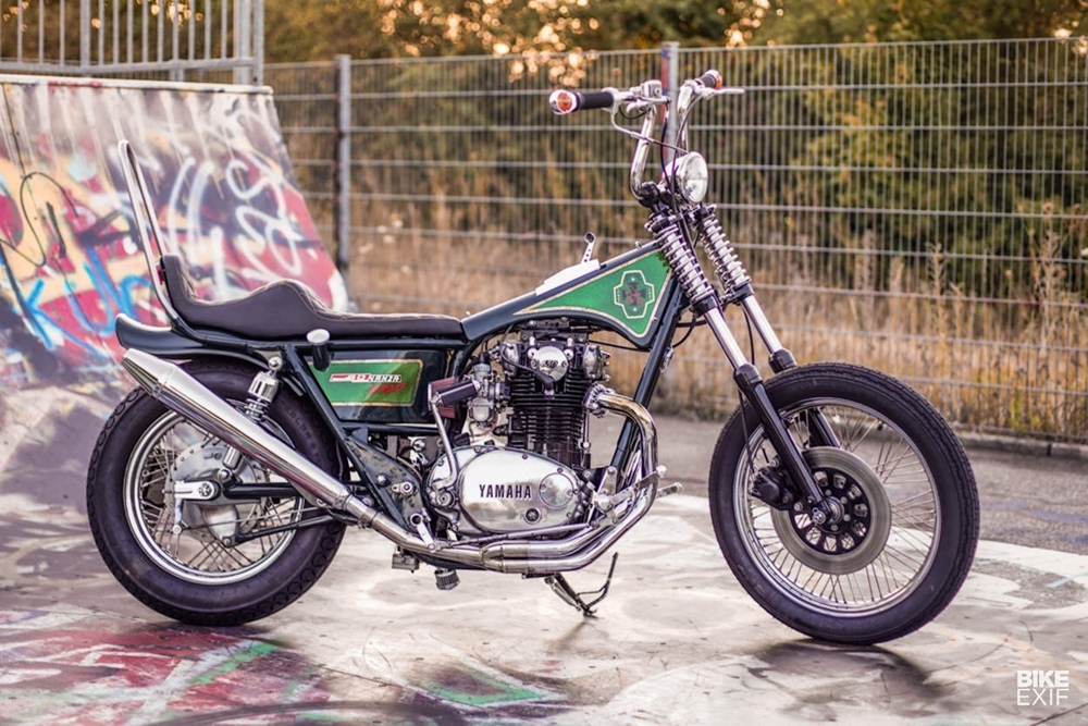 Benders Company: чоппер  Bonanza Krad на базе Yamaha XS650