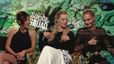 Margot Robbie, Cara Delevingne and Will Smith interview