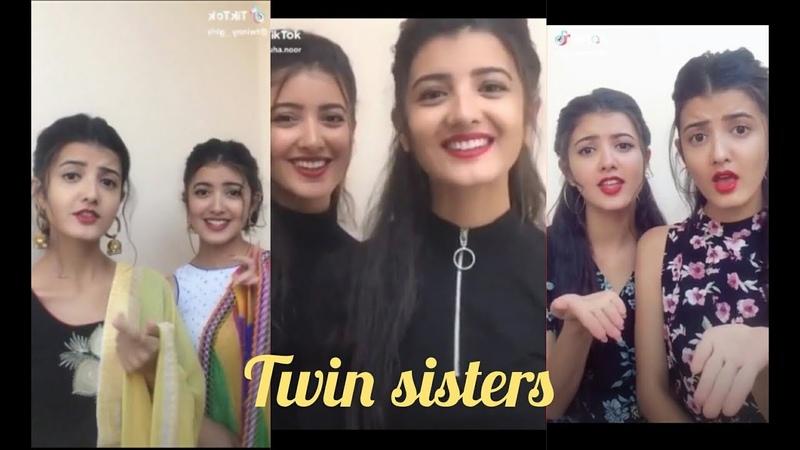 Nepali Twins Sister Latest Tiktok Videos   beaty twiny girls Parisma Princy