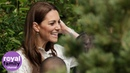 Duchess of Cambridge shares toasted marshmallows with schoolchildren at Back to Nature Garden