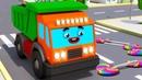 Camiones Infantiles Camion MAX y Dulces en la ciudad Coches Para Niños en Español Colección
