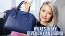 Whats in my Bag Givenchy Antigona Inthefrow