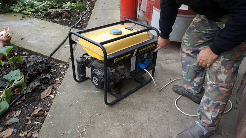 Подключаем домашнюю электросеть к генератору