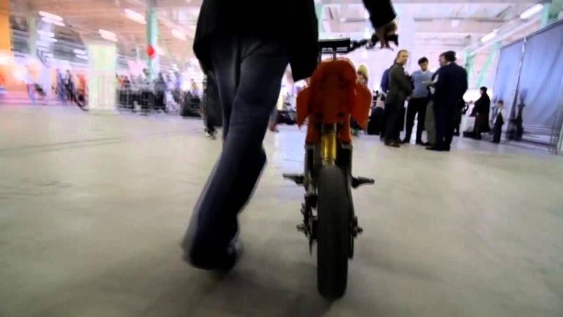 Deller bikes on russian innovation forum
