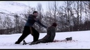 Dead Snow Nazi Zombie vs Hammer and Sickle and Chainsaw