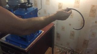 Электрический станок для разделки бронированного кабеля MS-60 и мкэш