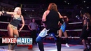 Styles' split goes wrong during dance break against Fabulous Truth on WWE MMC