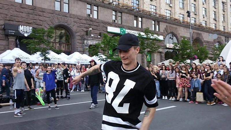 Уличные танцы. Киев. 13 Лисиц. Часть 37. Street dance. Kiev. 13 The fox. Part 37.