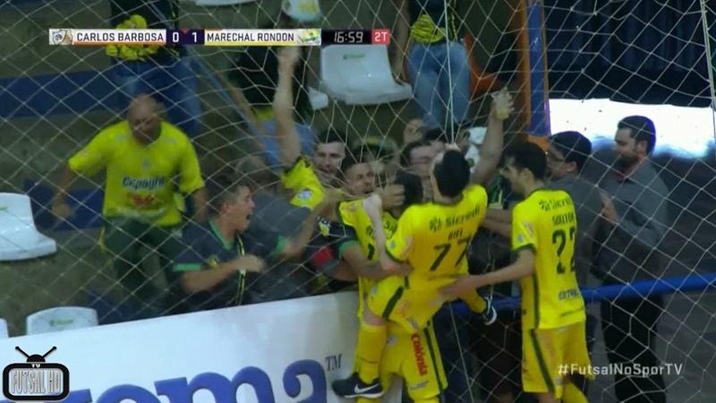 Gols Carlos Barbosa 0x2 Copagril - Quartas de Final 2º Jogo Liga Nacional de Futsal 2018