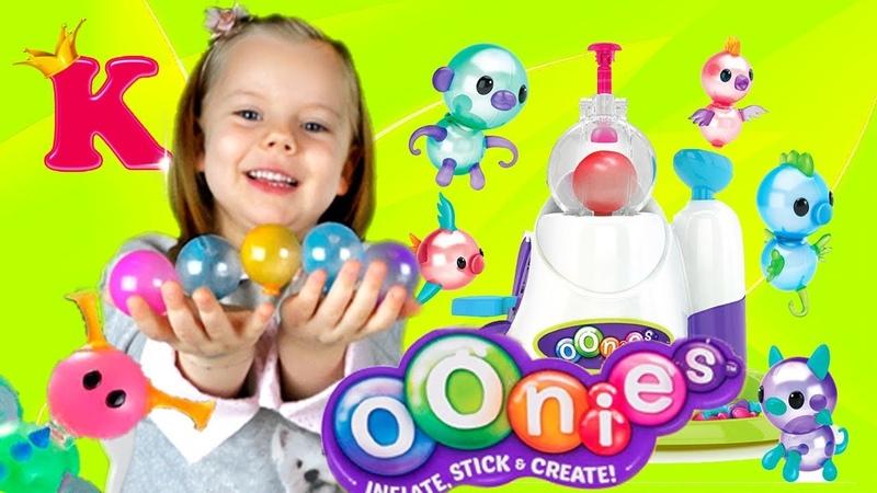 Игрушки из шариков Oonies Mega Starter Pack Creations Demonstration 6 Balloons Oonies