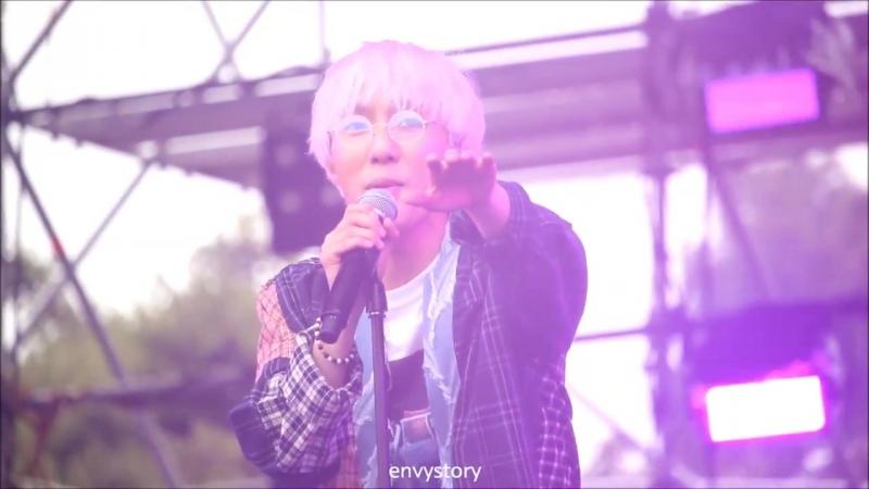 [FANCAM] Zion.T - See Through | JOY OLPARK FESTIVAL | Olympic Park (16.09.2018)