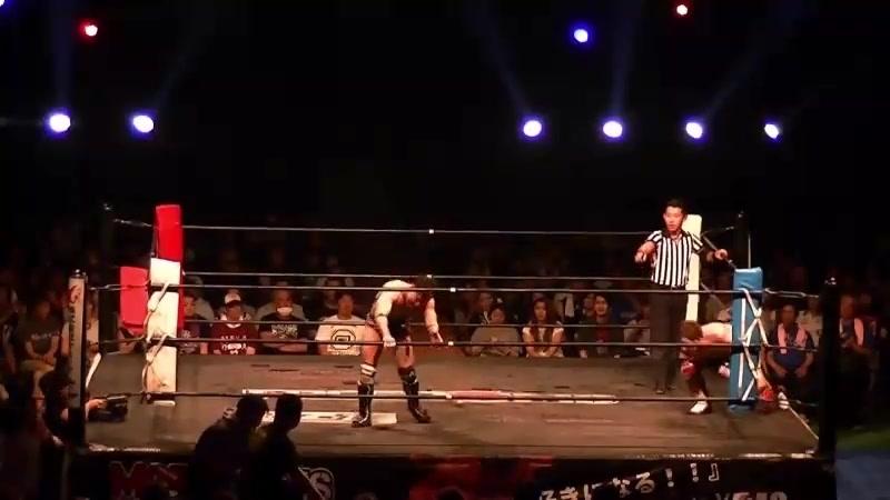 GENTARO, Tomoya Hirata vs. Koju Takeda, Shinobu (FREEDOMS - Homecoming Pro-Wrestling Style Ichinoseki Activation Plan! 2018)