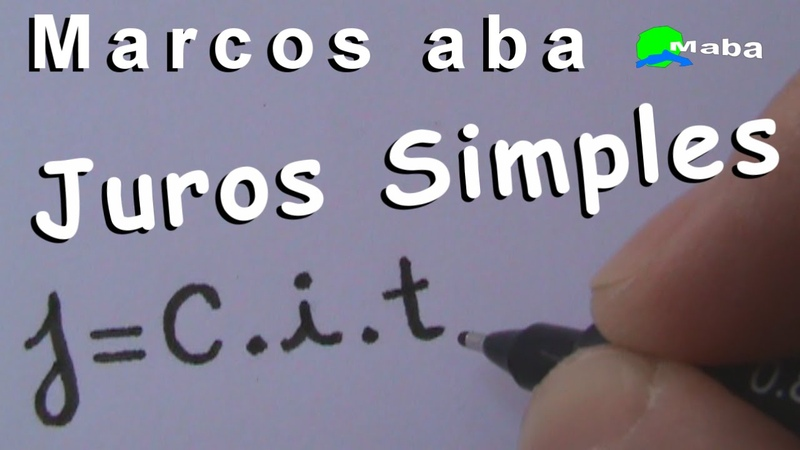 JUROS SIMPLES - Matemática financeira