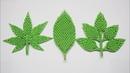 3D Origami Leaves Tutorial | DIY Paper Leaves , Maple Leaf Home Decor